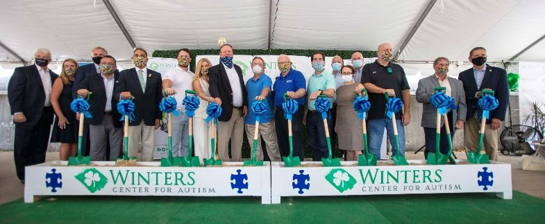 Winters Center for Autism Groundbreaking